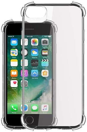 Apple Iphone 7| Iphone 8 - HD Clear Bumper Shockproof Corner Back Cover Transparent(Air Cushion Technology)