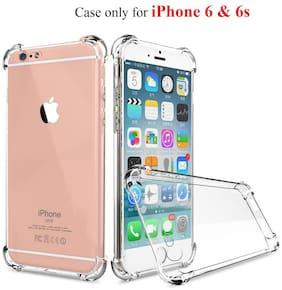 BIG CAT TPU Back Cover For Apple iPhone 6s & Apple iPhone 6 ( Transparent )