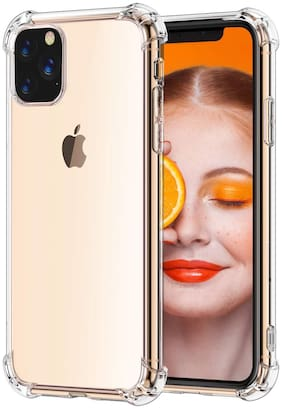 BIG CAT TPU Back Cover For iPhone 11 Pro ( Transparent )