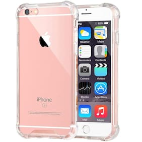 Apple Iphone 6 & 6s 11D Bumper Soft Case Back Cover Shockproof Corners with Air Cushion Technology In Transparent(Silicone & Rubber)