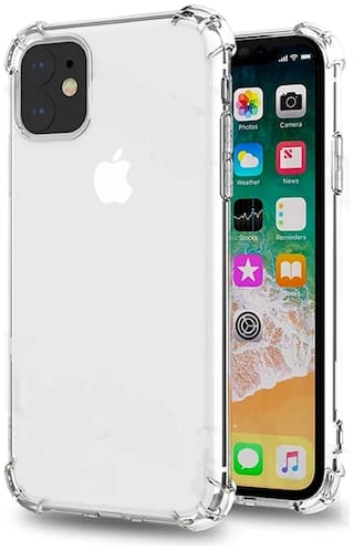 Apple Iphone 11 Back Cover In Shock Proof Protective Anti Shock,Bumper Corners with Air Cushion Technology