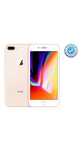 Apple iPhone 8 Plus 3 GB 64 GB Gold (Certified Refurbished)
