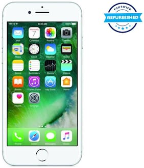 Apple iPhone 7 128GB Silver (Refurbished : Excellent)