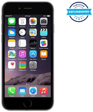 Apple iphone 6 1 GB 32 GB Space Grey (Refurbished : Excellent)