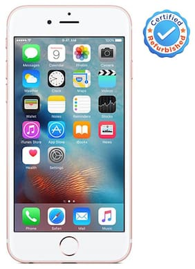 Apple iPhone 6S 64GB Rose Gold (Certified Refurbished)