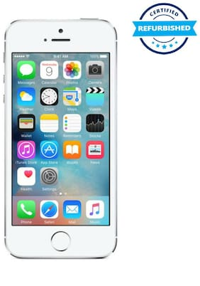 Apple iPhone 5S 16 GB Silver (Refurbished : Good)