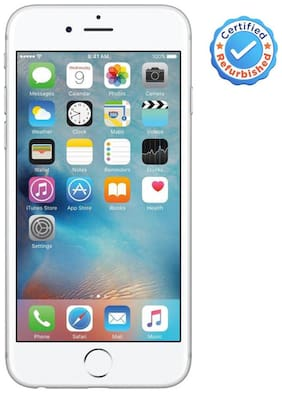 Apple iPhone 6S 64GB Silver (Certified Refurbished)