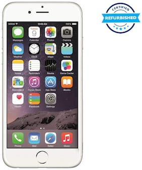 Apple iPhone 6 1 GB 64 GB Silver (Refurbished : Excellent)