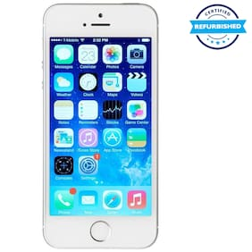 Apple iPhone 5s 1 GB 32 GB Silver (Refurbished : Excellent)