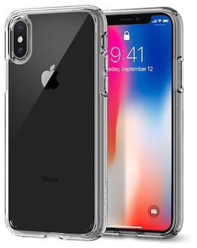 Apple iPhone X Ultra Thin Transparent Silicone TPU Back Case Cover | Apple Iphone X Transperant Backcover Case