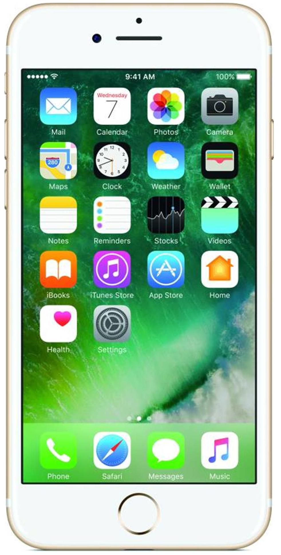 ऐप्पल आईफोन 7 - 128 जीबी (गोल्ड)