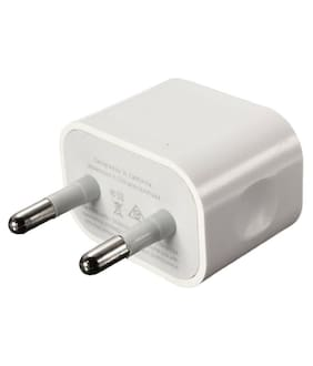 Apple iPhone-22 ML8M2HN/A 5W Fast Charging Adapter with Data Sync & Charging USB Cable For All Apple iPhone 5/5s/6/6S/7/7 Plus/8/8 Plus/X & iPhone's Devices
