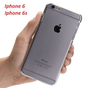 OFFERSONLY Silicone & Soft Case Back Cover For Apple iPhone 6 & Apple iPhone 6s ( Transparent )