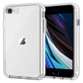 Apple iPhone SE 2020 Silicone & Rubber Back Cover By RAWAT ( Transparent )