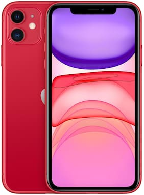 Apple iPhone 11 128 GB Red(Without Earphone & Adapter)