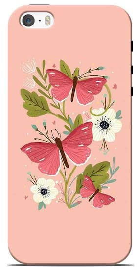 Apple IPhone 5S Printed Back Cover By Sowing Happiness