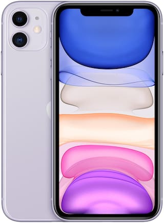 Apple iPhone 11 128 GB Purple(Without Earphone & Adapter)