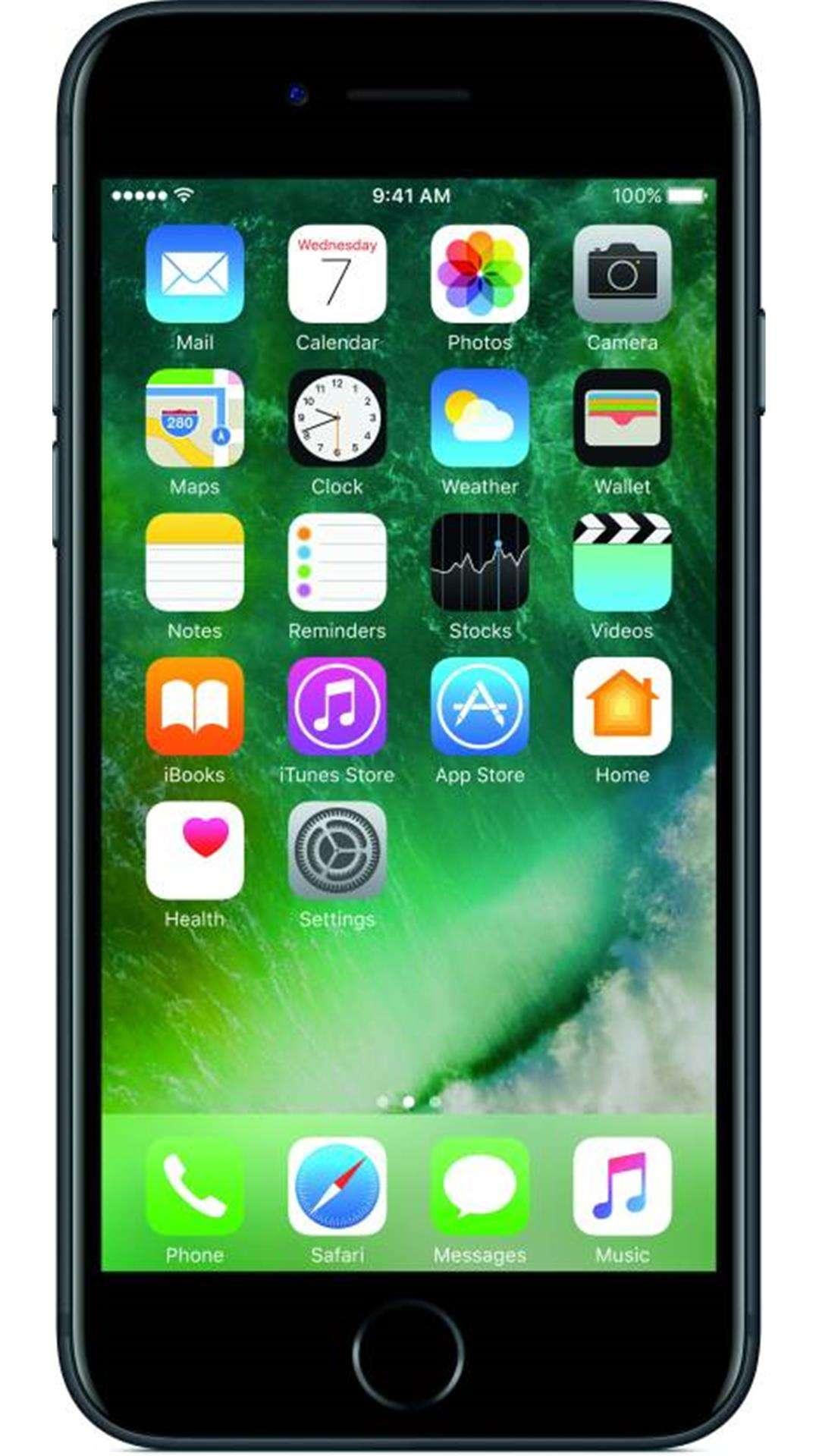 ऐप्पल आईफोन 7 - 128 जीबी (ब्लैक)