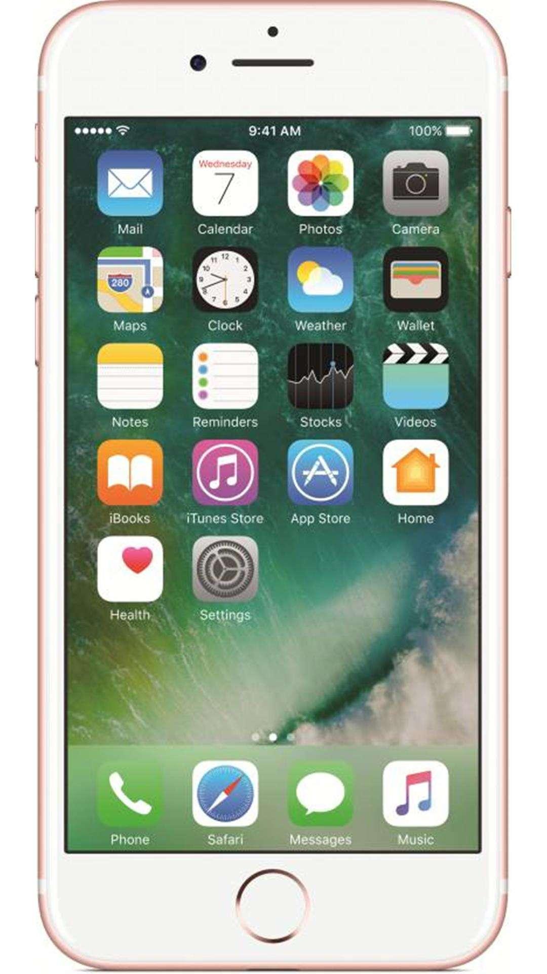 ऐप्पल आईफोन 7 - 128 जीबी (रोज  गोल्ड