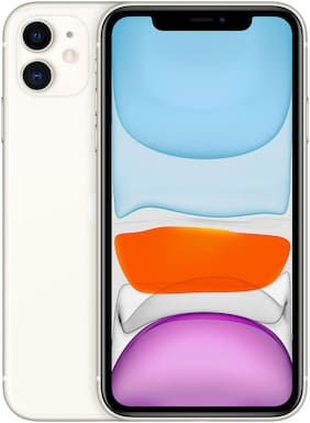 Apple iPhone 11 64 GB White(Without Earphone & Addapter)