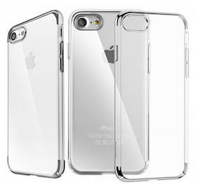 TSV Silicone Back Cover For Apple iPhone 7 ( Transparent )