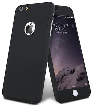 innovative design 1c8cb 808f4 apple iphone 6S 360 degree back cover with tempered glass (ipaky style)