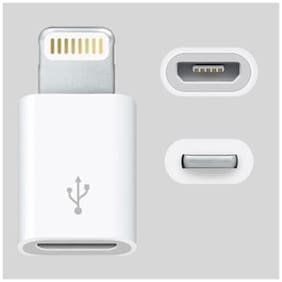 Timber MicroUSB to Lightning 8pin Charger Adapter Converter For iPhone