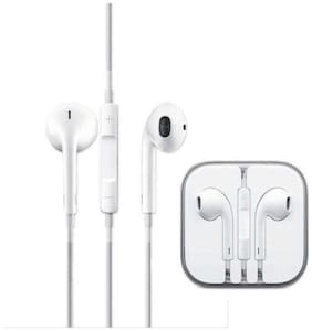 Apple Zone Iphn 6 In-ear Wired Headphone ( White )