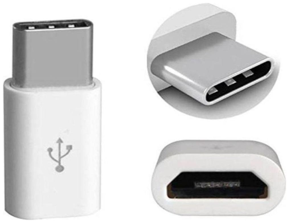 Appreciate Micro 3.1 USB to Type C Charging  Adapter  White