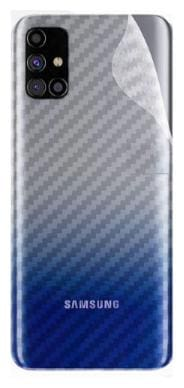 APYLOOK Mobile Back Skin for Samsung Galaxy M51 Transparent
