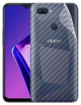 APYLOOK Mobile Back Skin for Oppo A12 Transparent