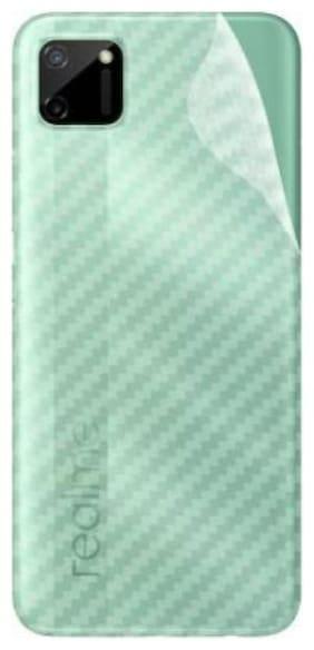 APYLOOK Mobile Back Skin for REALME C11 Transparent