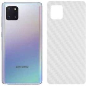 APYLOOK Mobile Back Skin for Samsung Galaxy A81 Transparent