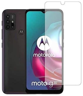Apylook Tempered Glass for Moto G30