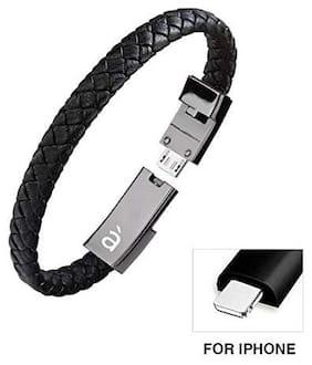 armilo Data & Charging 8 Pin (Lightning) Cable ( 0.2 m , Black )