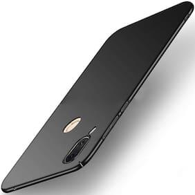 Artistque Silk Smooth Finish Full Coverage Slim Back Case Cover For Asus Zenfone Max Pro M1 - Black
