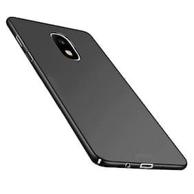 Artistque Silk Smooth Finish Full Coverage Slim Back Case Cover For Samsung J7 Pro - Black