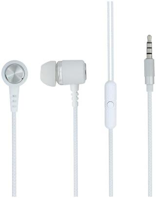 ARU AEP-44 In-Ear Wired Headphone ( White )