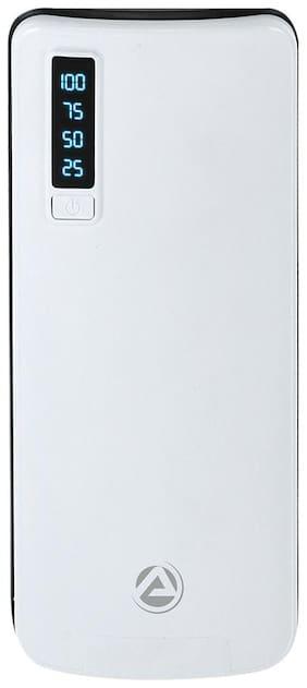 ARU 10000 mAh Power Bank - White