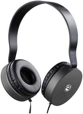 ARU AWH-92 Over-Ear Wired Headphone ( Grey )