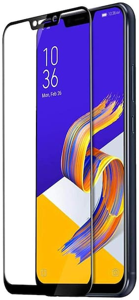 AccessRISE Mall Edge to edge tempered glass For Asus zenfone 5z