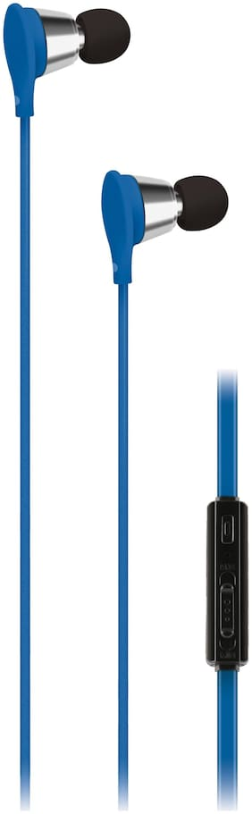 AT&T Ebv01-blu In-ear Wired Headphone ( Blue )