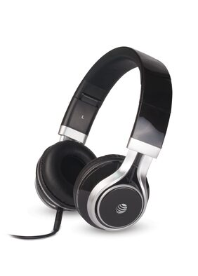 AT&T Hpm10-blk Over-ear Wired Headphone ( Black )