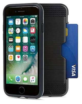 AT&T Mobile Wallet Case for iPhone7/iPhone 8 (Black)(WPC1)