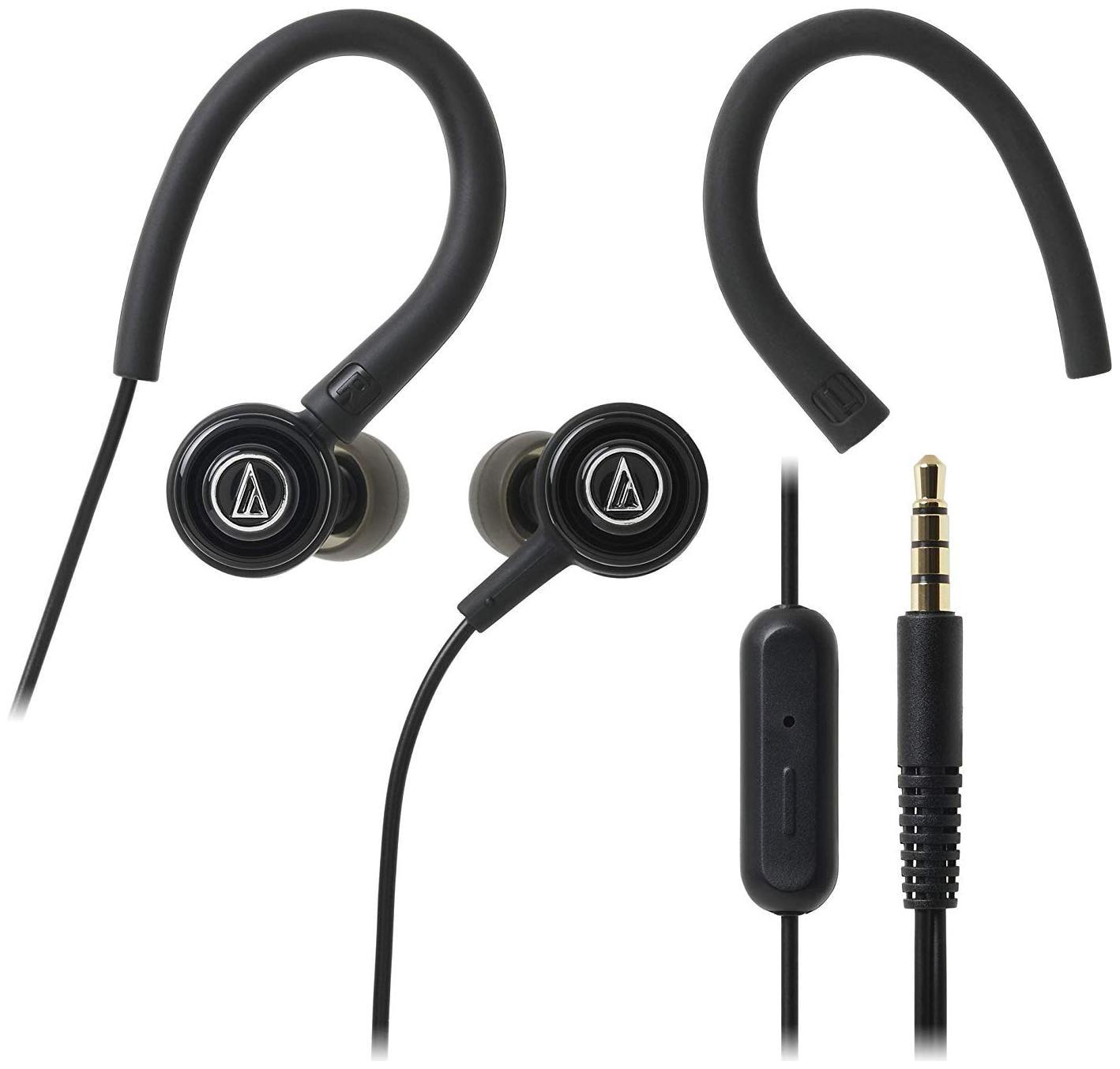 Audio Technica COR150ISBK In Ear Wired Headphone   Black   by Electrop Store
