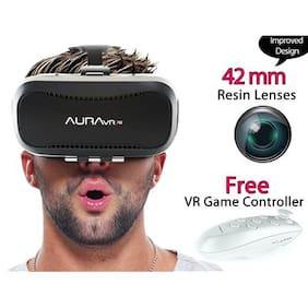 AuraVR Vr Headset ( Black )