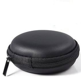 Avyukta Carrying Case Portable Protection Storage Bag for Earphone Headset Headphone Black-03