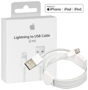 AZANIA IPOHN-221 Data & Charging 8 Pin (Lightning) Cable ( 1 m , White )