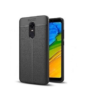 MOBILIFE Back cover For Redmi note 5 Silicone & Soft case Black