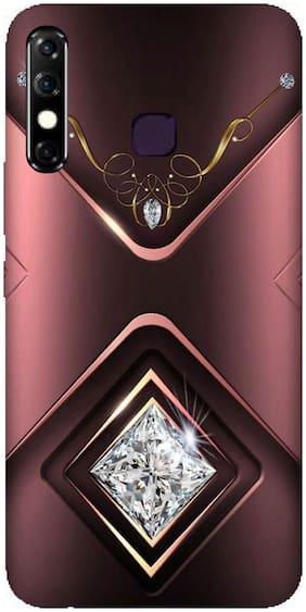 Back Cases Cover For Infinix Hot 8 (Designer,Multicolor, Back Cover, Grip Case, Silicon)